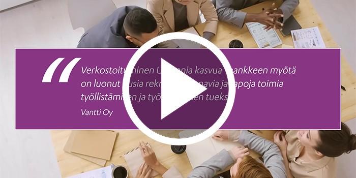 Kasvudiili 1: Työvoiman rekrytointi ja koulutus -videon stillikuva