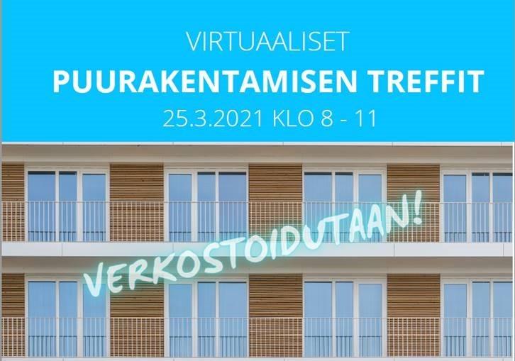 Virtuaaliset puurakentamisen treffit 25.3. klo 8-11