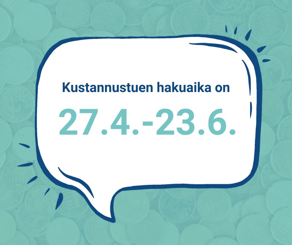 Kustannustuki III - hakuaika 23.6.2021 asti